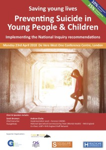 Preventing suicide in Young People  Apr  2018